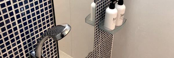 シャワー/アメニティ完備のパーソナルジム